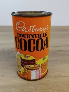 Vintage Cadbury's Bournville Cocoa Chocolate Tin
