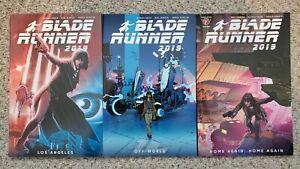 Blade Runner 2019 TPB Vol. 1-3 (Complete Series) [1 is Barnes & Noble Variant]