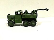 Original Super Dinky Toys Metal Military Recovery Tractor #661 with Driver