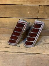 1977 1978 1979 Lincoln Continental Mark V LH & Rh Taillight Assemblies oem Used