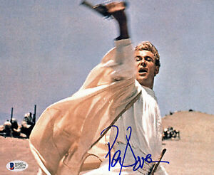 Peter O'Toole Lawrence of Arabia Authentic Signed 8x10 Photo BAS #D72075