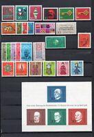 BRD Jahrgang 1968 komplett MiNr. 546 - 575 postfrisch