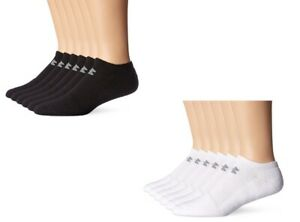 Original Under Armour Mens Charged Cotton 2.0 No Show 6 Pairs Training Socks