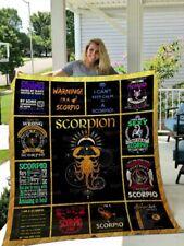 SCORPION Version 4 Fleece, Quilt Blanket Print In US