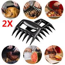 Bear Paws Claws Meat Handler Fork Tongs Pull Shred Pork Lift Toss BBQ Shredder