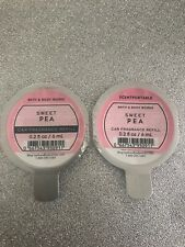 Bath And Body Works Scentportable Refill Air Freshener Sweet Pea X 2