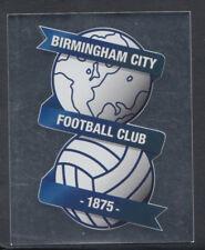 MERLIN PREMIER LEAGUE 2008 Calcio Sticker-n. 78-BIRMINGHAM FOIL BADGE (S749)