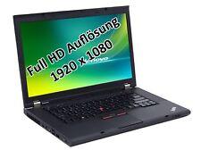 "Lenovo ThinkPad W530 i7 3740QM 2,7GHz 16GB 256GB SSD 15,6"" DVD-RW Win 10 Pro"