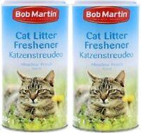 MEADOW FRESH LITTER FRESHENER - 1L (500ml x2) - Bob Martin bp Cat Tray Powder