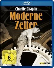 MODERNE ZEITEN (Charlie Chaplin, Paulette Goddard) Blu-ray Disc NEU+OVP
