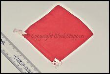 10 Red Velvet Drawstring Gift Bags Jewellery Storage Pouch Bracelet Pocket Watch