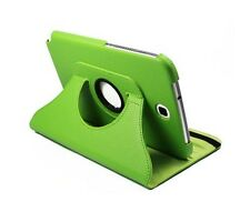 """Green 360 Rotating Leather Case Cover Stand for Samsung Galaxy Note 8"""" N5100"""