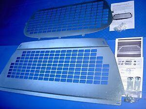 VAUXHALL ASTRA VAN BULKHEAD & REAR WINDOW SECURITY GRILLE ,fits Mk5 2006 Onward