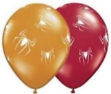 Spider Party Supplies Halloween Balloon 2 for $1.50 White Spider - Red OR Orange