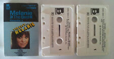MELANIE THE BEST AUSTRALIAN RELEASE DOUBLE CASSETTE TAPE SET