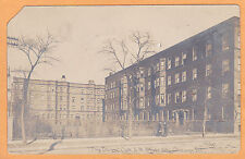 Childs Real Photo Postcard RPPC - The Irving - Oak & State Chicago Illinois
