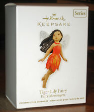 "2012 HALLMARK Keepsake Ornament ""Tiger Lily Fairy"" #8 in the Series"