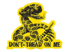 Don't Tread On Me (With Detailed Snake - Bumper Sticker)