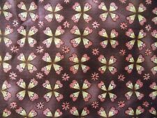 WtW Fabric Tracy Porter Floral Pattern Garden Flower Circle Geometric BTY Quilt
