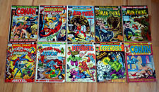 MARVEL BRONZE COMIC COLLECTION ~ 10 MARK JEWELER VARIANT Lot