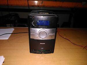 Philips DC146/05 mini hi-fi system, CD, Aux, tuner, dock   (66)