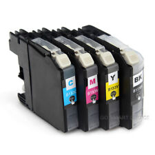 4x Ink Cartridge LC133 LC135 For Brother DCP J4110DW J752DW J152W J552DW Printer