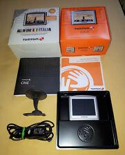 TOM TOM ONE 3 EDITION 1 GB supporto parabrezza caricabatteria auto USB documenti