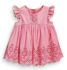 ••• ВNWT NEXT Girls • Pink Broderie Lace Blouse • 100% Cotton • 12-18 Months