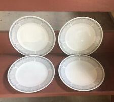 "Four 10 1/2"" Dinner Plates Harmony House Finlandia"
