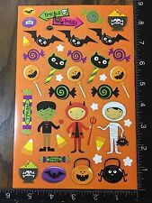 HALLOWEEN STICKERS TRICK OR TREAT, SHEET STICKERS BY CREATOLOGY  #TRICK14