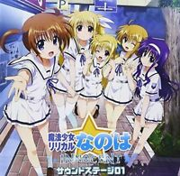 DRAMA CD-MAGICAL GIRL LYRICAL NANOHA INNOCENT SOUND STAGE 01-JAPAN CD Bonus F56