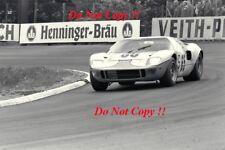 Jacky Ickx & Paul Hawkins JWA Gulf GT40 Nurburgring 1000 Km 1968 Photograph 1