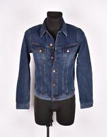 Nudie Jeans Billy Deep Indigo Men Denim Jacket Size S Small