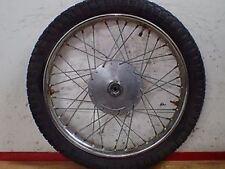 1968 Jawa 590 250cc Californian front wheel rim hub Pirelli tire