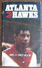 "1976-77 ""Atlanta Hawks Fact Book"" Cover: John Drew, Youngest All-Star In NBA"