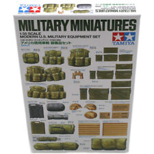 Tamiya Military Miniatures Modern U.S Equipment Set - Scale 1:35 - 35266