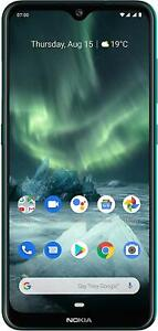 """Brand New NOKIA 7.2 Green TA-1178 4GB 128GB 6.3"""" Android 10 Smartphone In Box"""