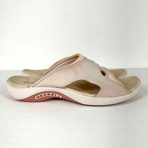 MERRELL Palmetto Women's Size 8 Pale Shell Pink Slide Sport Sandals
