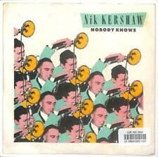 "Nik Kershaw - Nobody Knows - 7"" Vinyl Record Single"