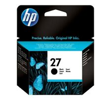 Cartouche Original d'Origine HP 27 HP27 C8727AE Encre Noir Black 08/2015 Genuine
