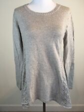 NWT Style & Co Petite Women Light Brown Knit Sweater Asymmetrical Sz PS MSRP $54