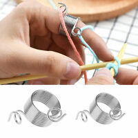Stainless Steel Fingertip DIY Weaving Tools Crafts Knitting Tool Accessories 2SZ