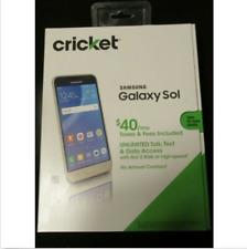 Brand New Samsung Galaxy Sol Cricket Wireless Smart Phone 4G LTE