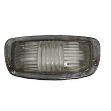 Vintage 1941 Chrysler Desoto Plymouth Dodge Chrome Glass Dome Light Lens Bezel