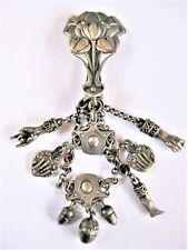 Art Nouveau Rockstecker Real Silver, 90,52 G, Costume, Rarity
