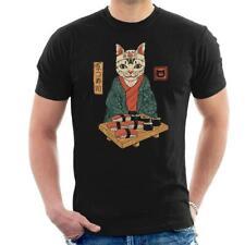 Neko Sushi Bar Cat Men's T-Shirt