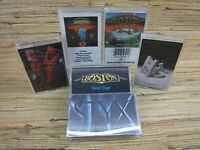 Cassette Tape Lot STYX FOREIGNER BOSTON REO SPEEDWAGON Greatest Hits x6