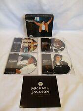 MICHAEL JACKSON LTD EDT TOUR SOUVENIR PICTURE CD PACK BOX SET