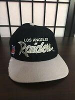 Vintage 6 7/8 Los Angeles RAIDERS Script Hat Cap Sports Specialties