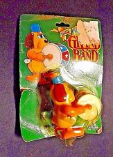 TOMY PREOWNED WINDUP TOY THE NOT SO GRAND BAND FACTORY SEALED #2530 DOG W/ DRUM